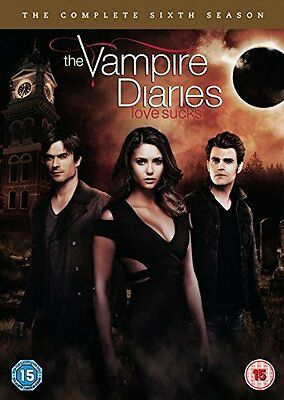 Vampire Diaries : Season Series 6 DVD, 2015, 5-Disc Set R4 New Sealed
