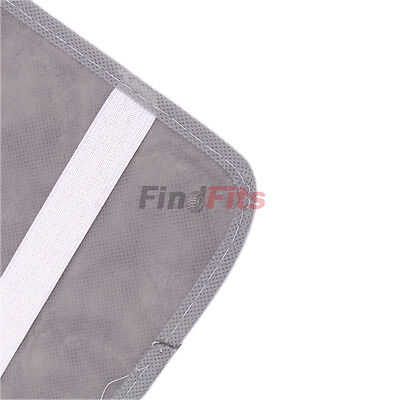 NEW 12 Pieces Car Visor CD Organizer Bag Holder Storage Gray