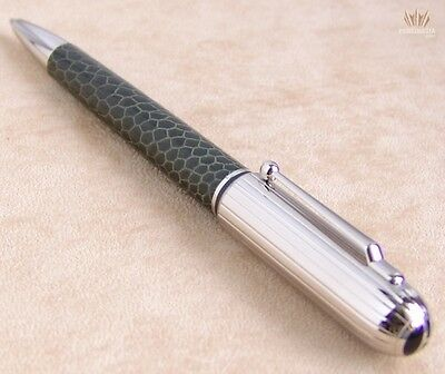 Dunhill Limited Edition Sidecar Ostrich Foot Leather Chassis Green Ballpoint Pen