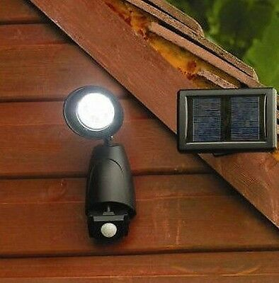 9 Led Solar Security Light With Pir Motion Sensor Rechargable Outdoor Garden