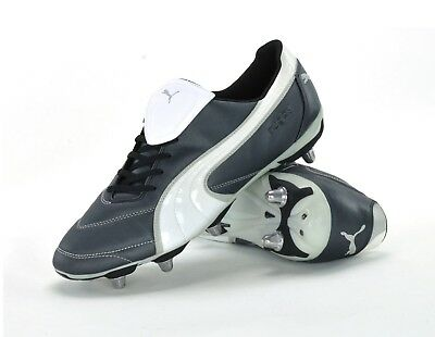 Puma Esito Ii H8 - Mens Rugby Boots - 101305 01 - Black/white/silver - Brand New