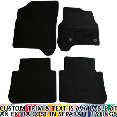 Citroen C3 Picasso 2009+ Fully Tailored 4 Piece Car Mat Set with 2 Clips