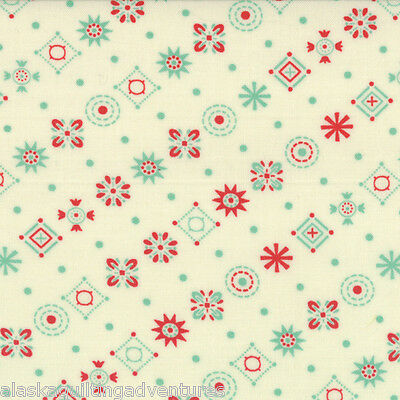 MODA Fabric ~ BABY JANE ~ by Cosmo Cricket (37064 11) - by the 1/2 yard