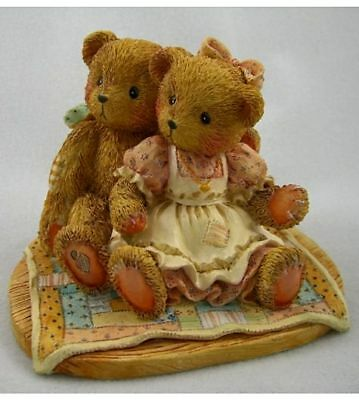 """Cherished Teddies:  Nathaniel & Nellie """"It's Twice As Nice With You"""""""