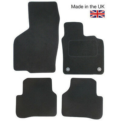 Mercedes E Class (W212) 2009 - 2011 Fully Tailored 4 Piece Car Mat Set 2 Clips