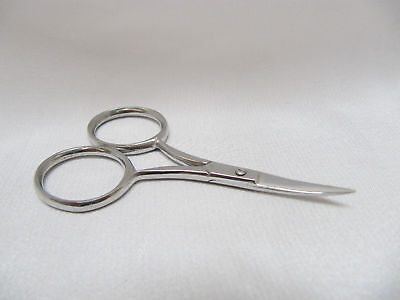 """Curved Wide Bow Embroidery 3.5"""" / 9cm Scissors"""