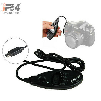 Yongnuo Camera Shutter Release Remote Control N2 Black for Nikon D80 D70S MC-20A