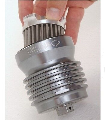 PC Racing Flo Oil Filter Stainless Steel PCS1