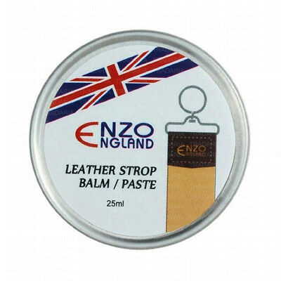 Yellow Balm Paste For Leather Goods Strop Strap Belt For Straight Razor Honing