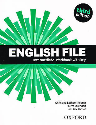 Oxford ENGLISH FILE Intermediate THIRD EDITION Workbook with Answer Key @NEW@