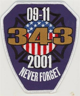 91101 343 Never Forget Purple Patch