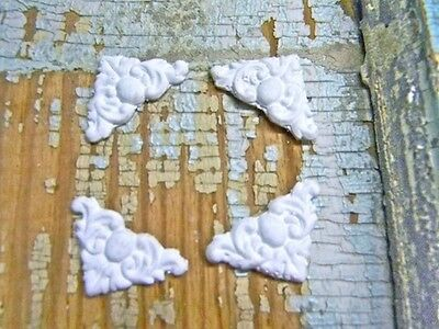 SHABBY n CHIC  CORNERS ( SET OF 8 ) *FURNITURE APPLIQUES