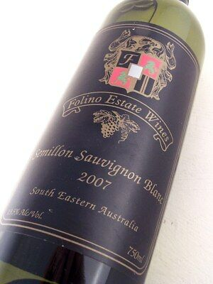 2007 FOLINO ESTATE Semillon Sauvignon Blanc Isle of Wine