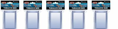 Ultra Pro Tobacco Top Loaders lot of 50 w/ sleeves NEW Toploaders