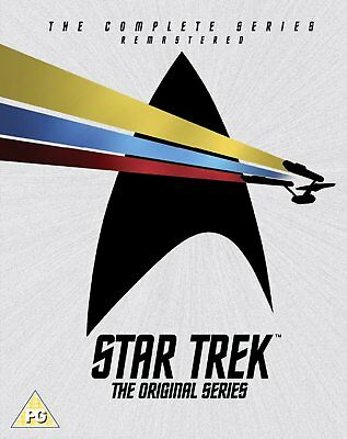 STAR TREK COMPLETE the ORIGINAL SERIES SEASONS 1, 2 & 3 DVD Box Set R4