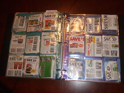 (5) 9 Pocket Pages for 3 Ring COUPON BINDER ORGANIZER-FREE SHIPPING! GREAT DEAL!