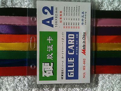 1000 x A2 Plastic Pouch with Lanyards BULK LOT CHEAP