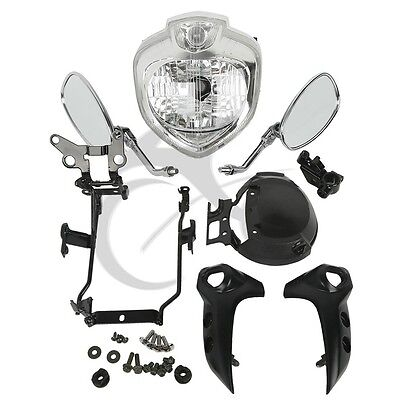 Headlight Set Head Light Assembly For Yamaha Fz6S Fz6N Fazer 2004-2006 2005