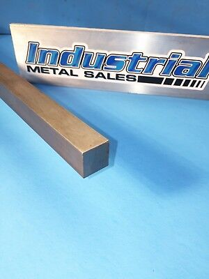 """3/4"""" x 12""""-Long 416 Stainless Steel Square Bar- .750"""" 416 Stainless Steel Square"""