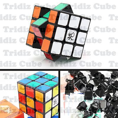 3x3x3 Black Dayan Zhanchi V5 50mm Mini Speed Cube puzzle smooth New -US SELLER-