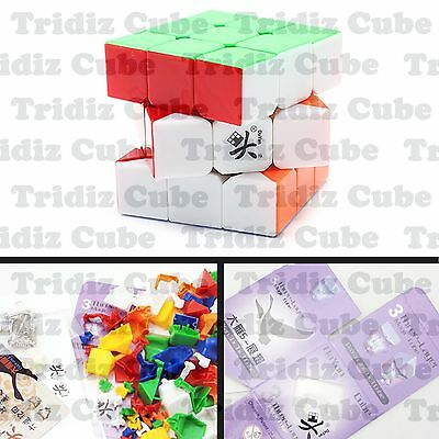 3x3x3 Stickerless Dayan Zhanchi V5 57mm Speed Cube puzzle smooth - US SELLER -