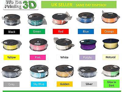 3D Printer Filament ABS 3mm - 1Kg & 0.5Kg -25 Colours - Reprap, Unimaker