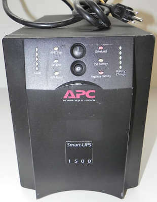 APC Smart-UPS SUA1500 1440VA 980W 8 Outlets UPS -  Batteries Defective