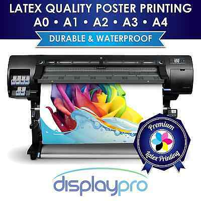 Waterproof Outdoor Colour Poster Printing for A-board, Snapframe A4 A3 A2 A1 A0