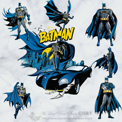 Batman Kids Vinyl Wall Art Stickers Nursery Decal Kid Boys Room Decor Gift