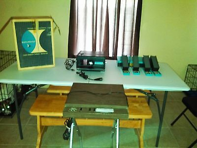 Bell & Howell Slide Master 935 and Sears Projector Stand Model # 9923
