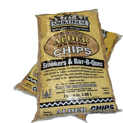 Smokehouse Products Inc Smoker Wood Chips - 2 Bags Alder