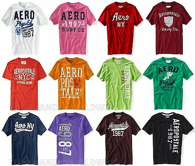 Aeropostale Mens T-Shirt Lot Of 10 You Choose Sizes Nwt Wholesale Resale Shirts