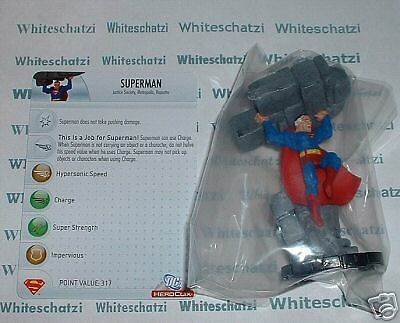 Heroclix DC: SR Chase Superman # 100 with Card (Crisis)