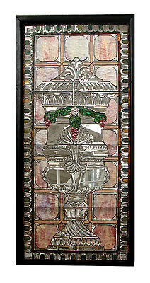 Stained Glass Window, with Beveled Glass #5507