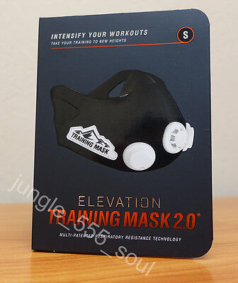 ELEVATION Training Mask 2.0 High Altitude MMA Fitness - SMALL