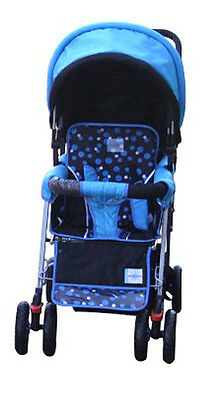 DOUBLE Stroller BLUE Baby Strollers BEBELOVE 2 Seats Multiple ...