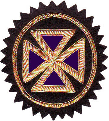 Masonic Knight Templar Past Grand Commander Cross Rosette Hand Made (Me-089)