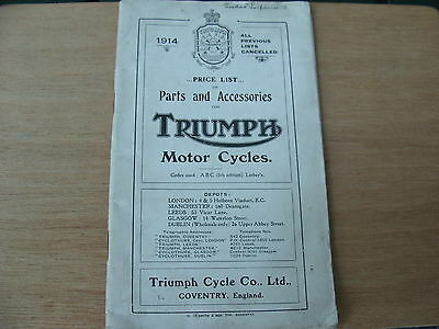 Manuale Triumph Parts And Accessories Strumey Archer 350 Hp Motor Cycles Manual