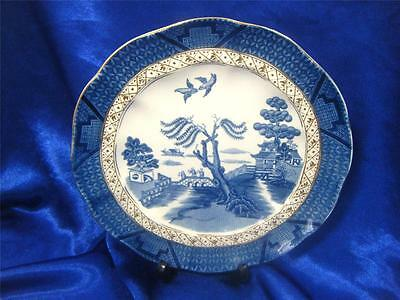 Booths Real Old Willow x1 brekfast/display plate! lovely blue and white pattern