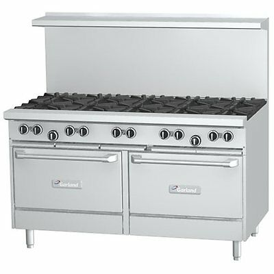 1 lot of 10,  60 inch 10 burner range by Garland