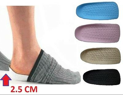 FootSoothers™ In-Sock Arch Support Height Increase Heel Lift Shoe Insert Insoles