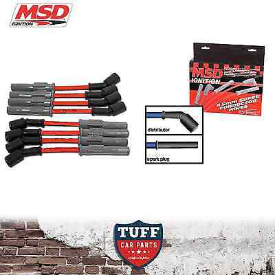 VT VX VY VZ Holden Commodore LS1 V8 MSD 8.5mm Performance Ignition Leads 32819