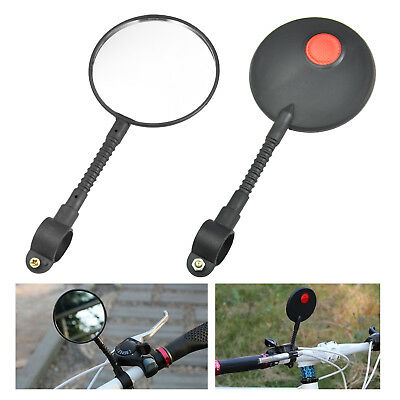 Bicycle Bike Handlebar Rear View Mirror Driving Road Vision - By TRIXES