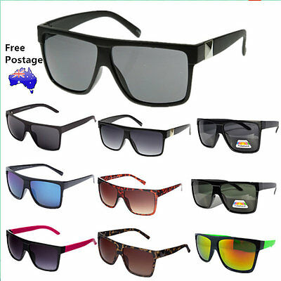 Mens Womens OZ Seller Free Postage  Vintage Large Fashion Sunglasses 208
