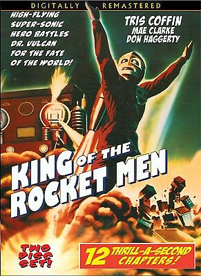 KING OF THE ROCKETMEN - Cliffhanger serial with EXTRAS  2 disc DVD- TRIS COFFIN