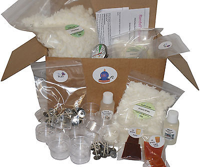 Complete Beginners Tea Light Candle Making Kit. Amazing Value!