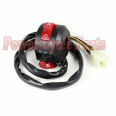 8 Wire Chinese Atv Mini Quad Left Side Control Switch Baja Sunl Tank Nst Roketa