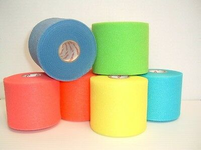 Mueller PreWrap Hair Wrap 6 Rolls HOT & NEW COLORS Soccer, Sports, Volleyball
