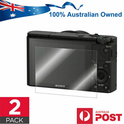 2 x Screen Protector Guard for Sony RX100 A7 II A7r III RX1R RX10 A9