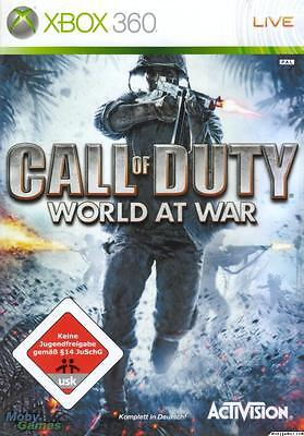 Call of Duty World at War Xbox 360 GAME AUS PAL *BRAND NEW!* + Warranty!